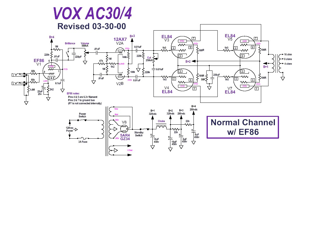VOXAC30_4 Ac Schematic on old vox, diy vox, vs dc30, vox amplug 2, ac15 vs, best tubes for vox, best settings for vox,