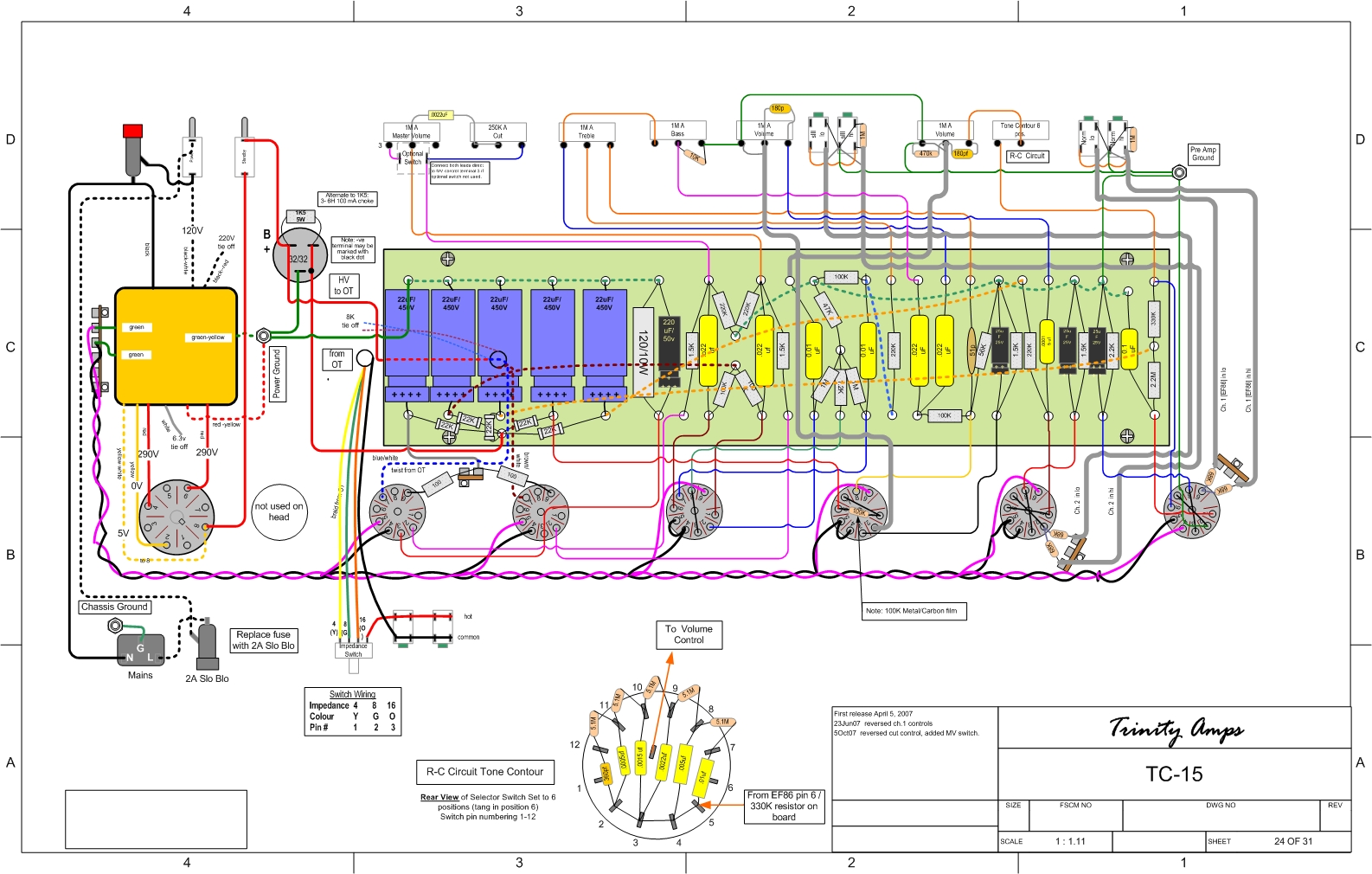 wiring amp diagram