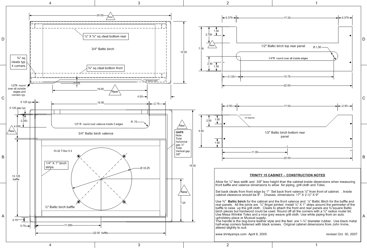 2x12 Guitar Cabinet Schematics Web About Wiring Diagram Auto Electrical U2022 Rh 6weeks Co Uk Vertical