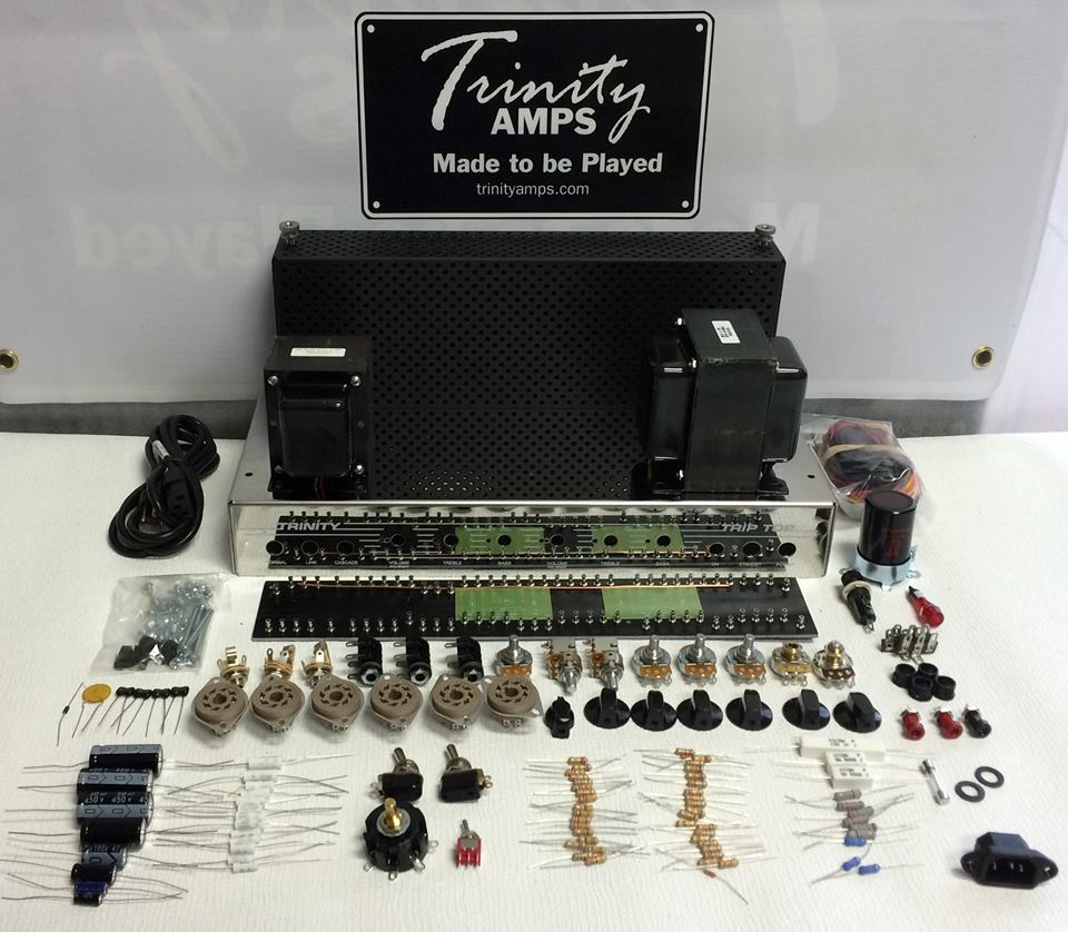 Trinity Trip Top Kit Amps Inserting A Tone Control Between Preamp And Power Amp Triptopkit